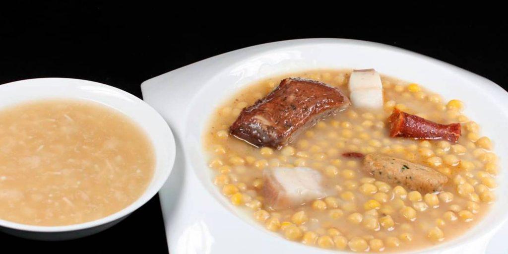 comer en Ávila cocido morañego