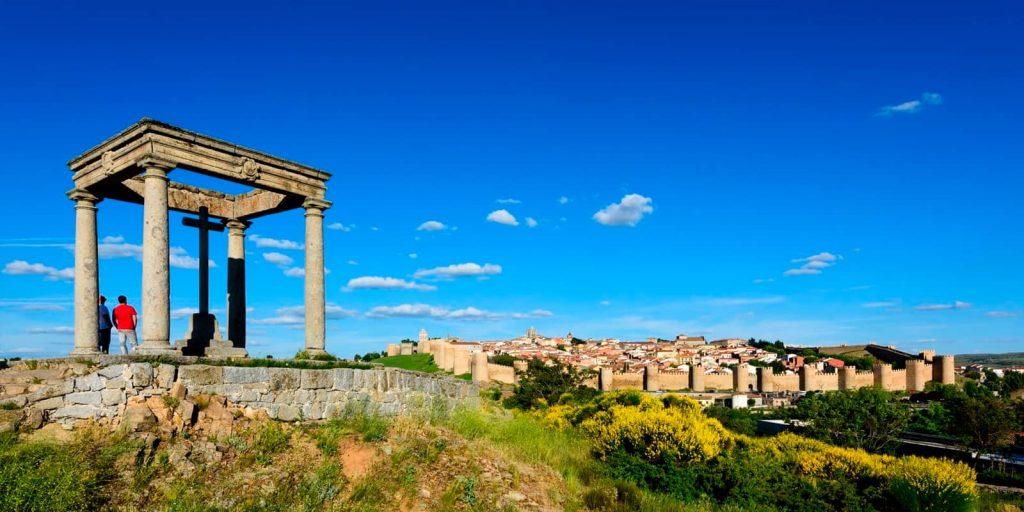 Los Cuatro Postes en Ávila