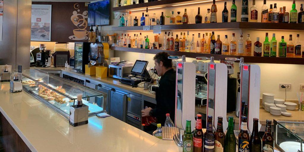 Bar barbacana en Ávila