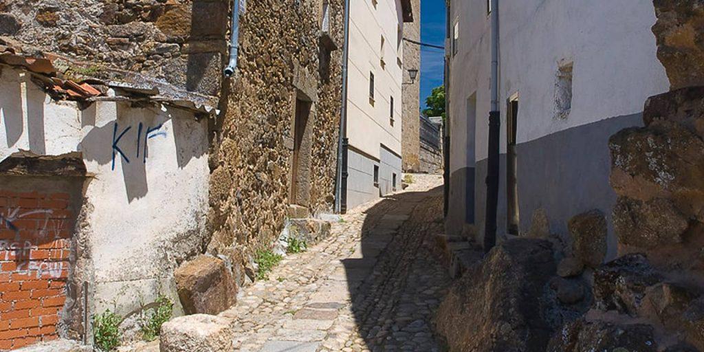 Calle de Gallareta en Barco de Ávila