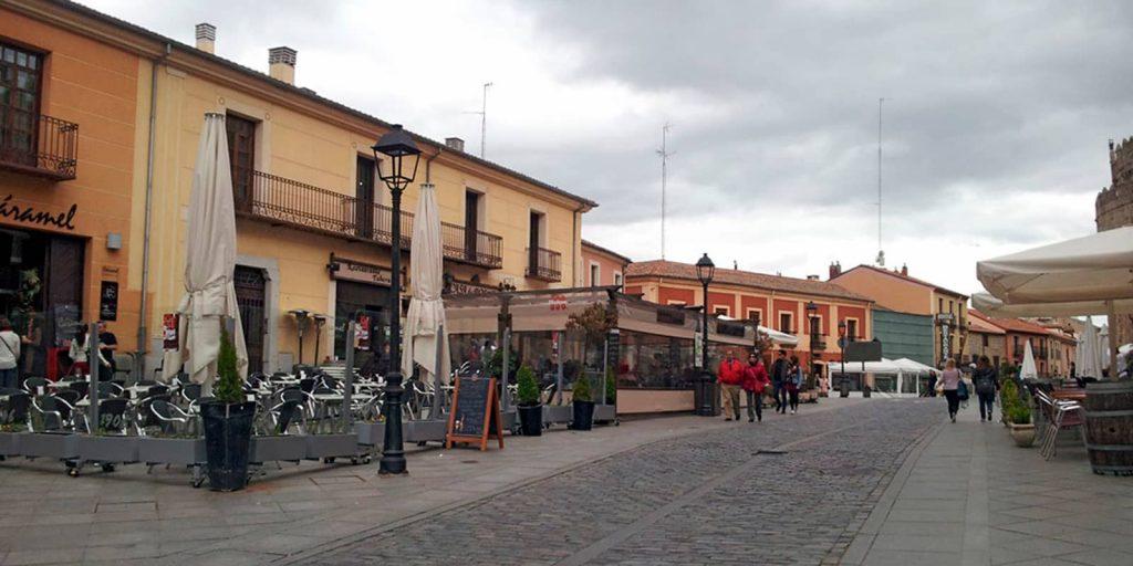 Calle de San Segundo en Ávila