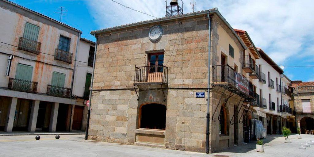 Casa del reloj en Barco de Ávila