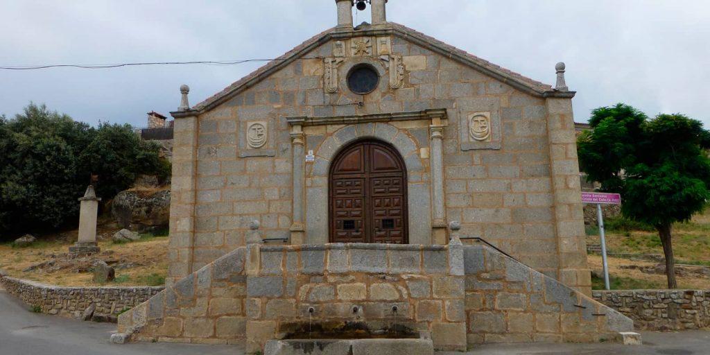 Ermita del cristo en Barco de Ávila