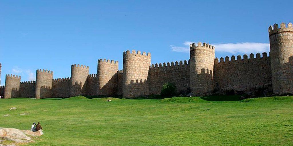 Fotografía del Lienzo Norte de la Muralla de Ávila