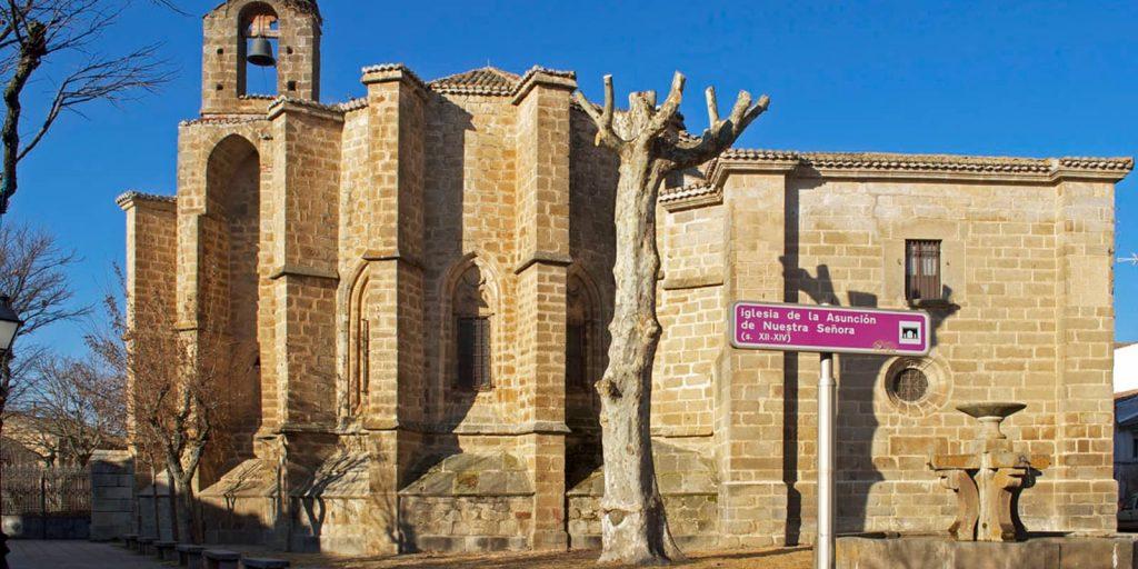 Iglesia de la Asunción nuestra señora en Barco de Ávila