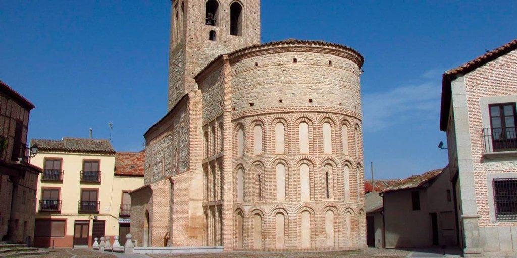 Iglesia de Santa María la Mayor del castillo en Arévalo
