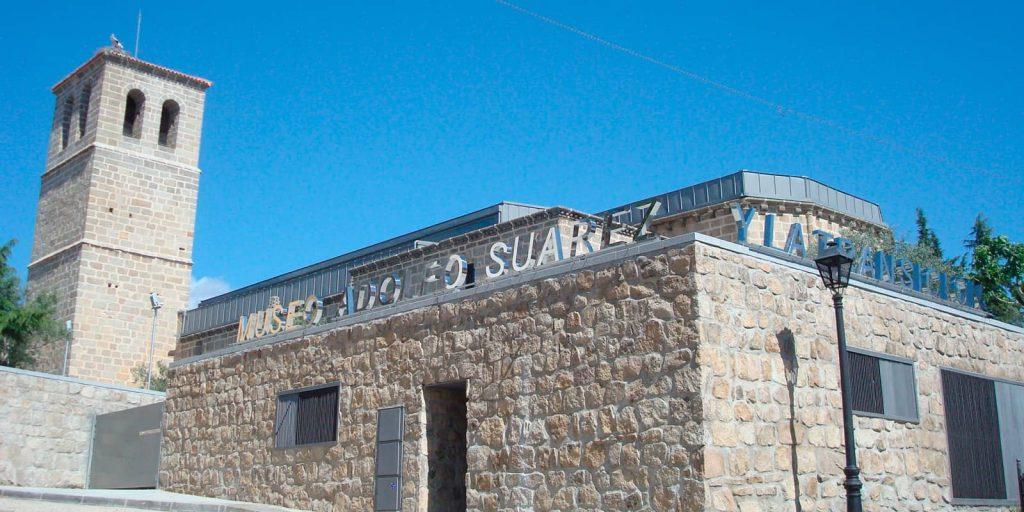 Iglesia vieja de Cebreros museo de Adolfo Suarez