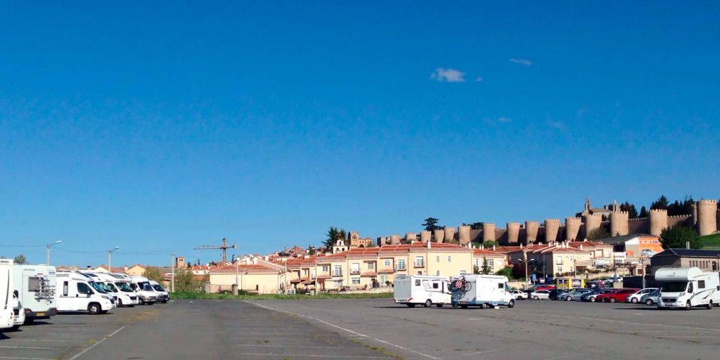 Parking gratuito en Ávila