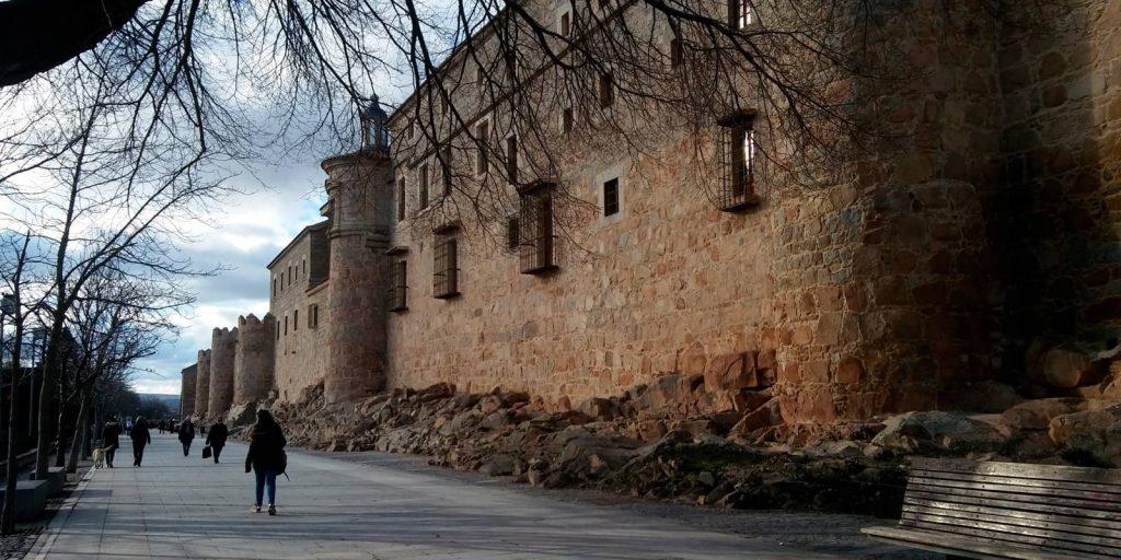 Paseo del rastro en Ávila