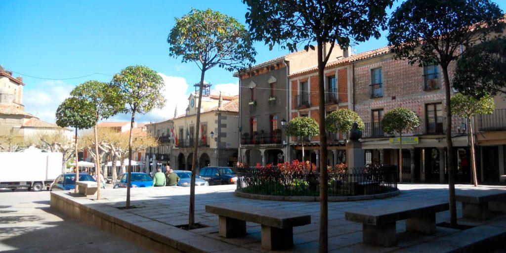 Plaza mayor de Piedrahíta
