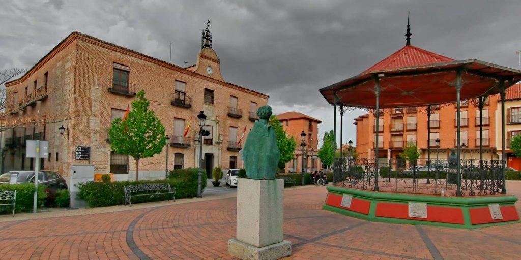 Plaza real de Arévalo