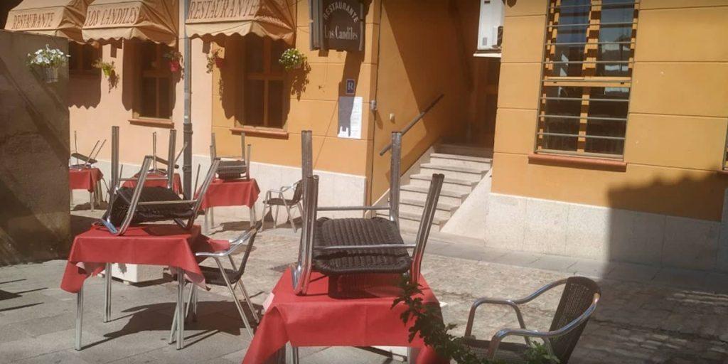 Restaurante Los Candiles en Ávila
