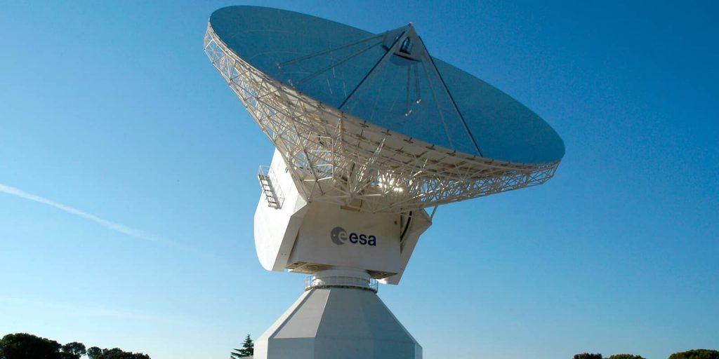Satélites de la ESA en Cebreros