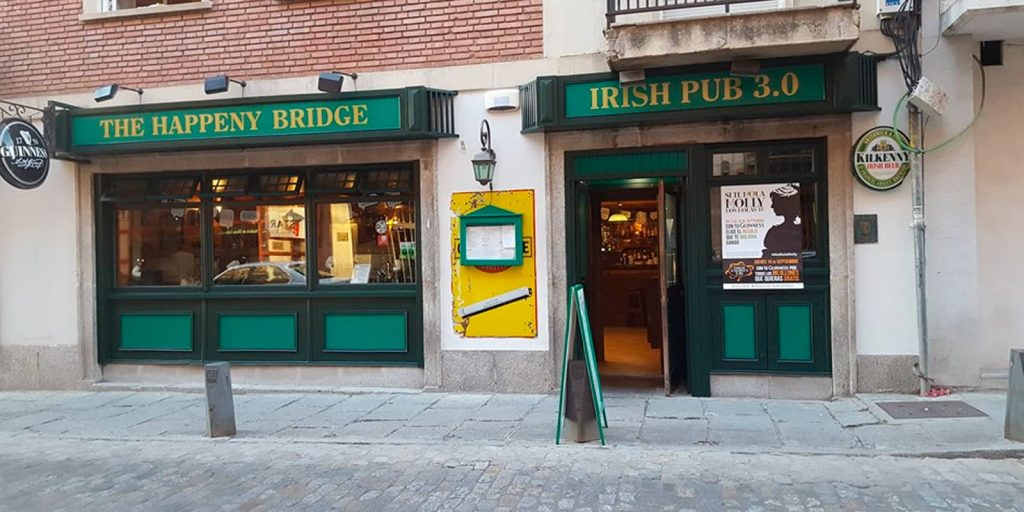 The happeny bridge - Irish pub 3.0 en Ávila
